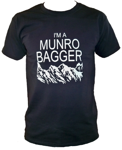 G63 – Adults T-shirt – I'm a Munro Bagger