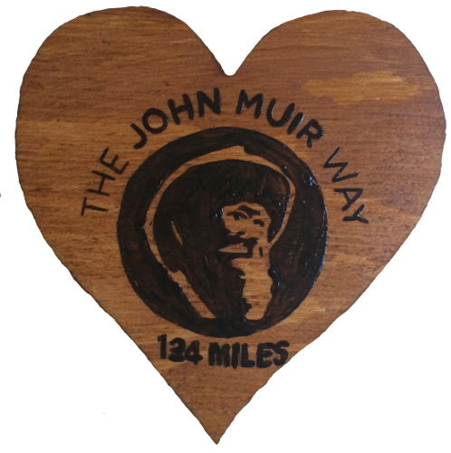 Woods – Heart Shaped John Muir Way
