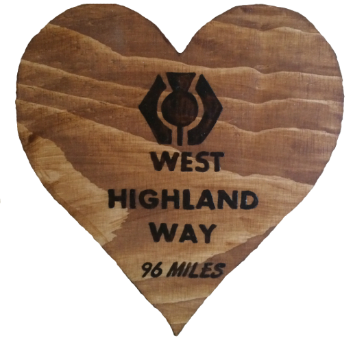 Woods – Heart – West Highland Way