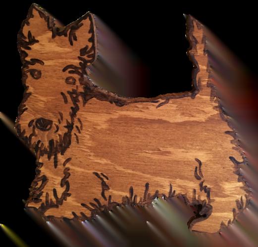 Woods – Large – Scottie Dog