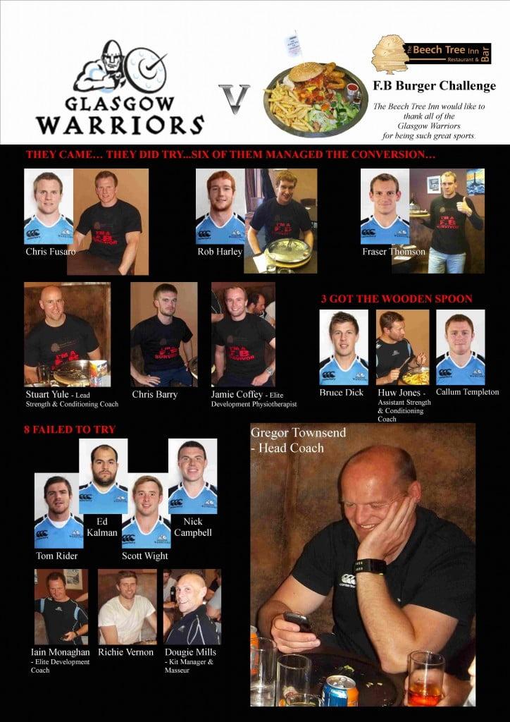 Glasgow Warriors v F.B Burger- a3 - June 2013