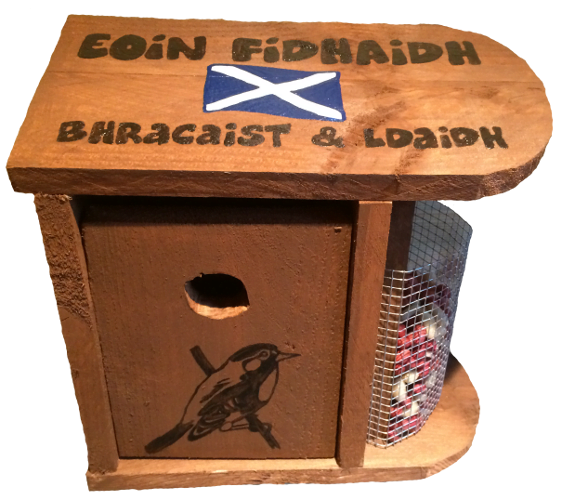 Woods – Bird hut – Gaelic – Wild Bird B & B