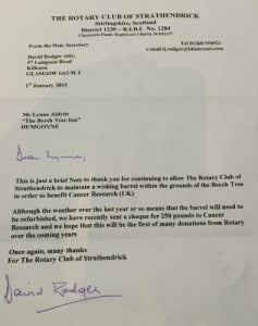 rotary letter