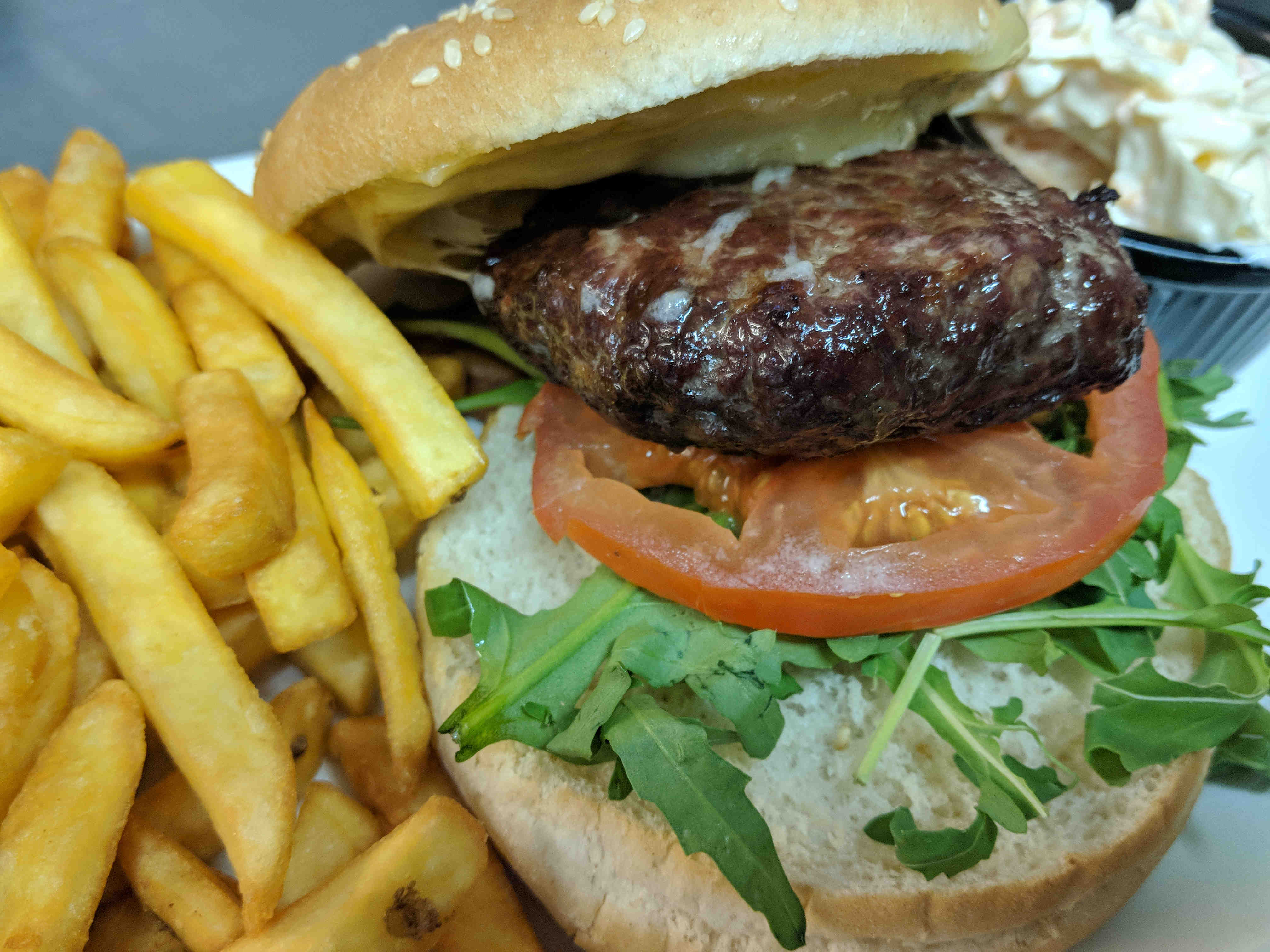 Highland Cow Burger – low
